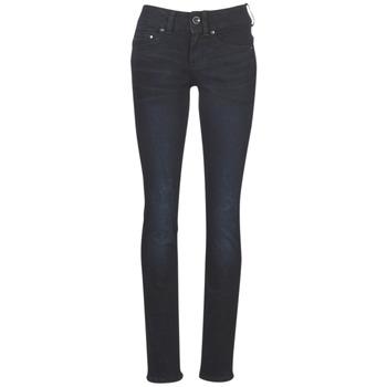 Îmbracaminte Femei Jeans drepti G-Star Raw MIDGE MID STRAIGHT WMN Albastru / Dark / Aged