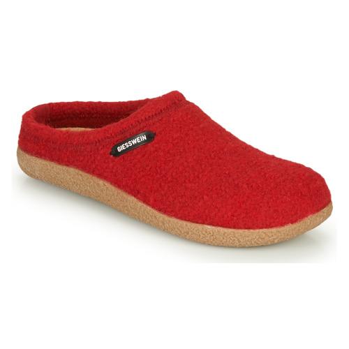 Pantofi Femei Papuci de casă Giesswein VEITSCH Roșu