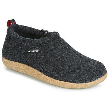 Pantofi Femei Papuci de casă Giesswein VENT Antracit