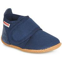 Pantofi Băieți Papuci de casă Giesswein STRASS SLIM FIT Bleumarin