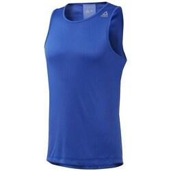Îmbracaminte Bărbați Tricouri mânecă scurtă Reebok Sport RE Speedwick Single Albastre