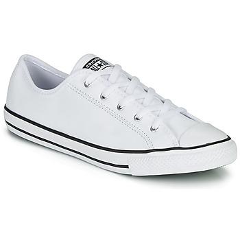 Pantofi Femei Pantofi sport Casual Converse CHUCK TAYLOR ALL STAR DAINTY GS  LEATHER OX Alb