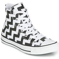 Pantofi Femei Pantofi sport stil gheata Converse CHUCK TAYLOR ALL STAR GLAM DUNK CANVAS HI Negru / Alb