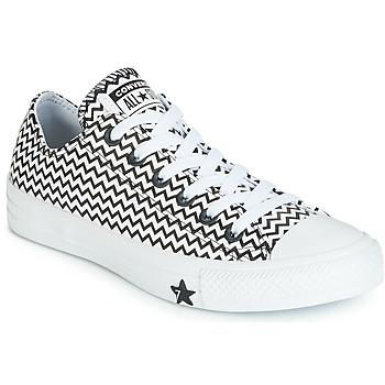 Pantofi Femei Pantofi sport Casual Converse CHUCK TAYLOR ALL STAR VLTG LEATHER OX Alb / Negru