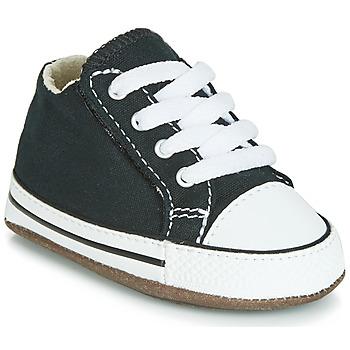 Pantofi Copii Pantofi sport stil gheata Converse CHUCK TAYLOR ALL STAR CRIBSTER CANVAS COLOR  HI Negru