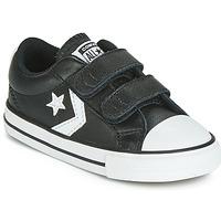 Pantofi Copii Pantofi sport Casual Converse STAR PLAYER EV 2V  LEATHER OX Negru