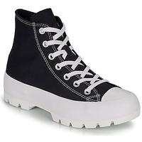 Pantofi Femei Pantofi sport stil gheata Converse CHUCK TAYLOR ALL STAR LUGGED HI Negru