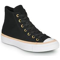 Pantofi Pantofi sport stil gheata Converse CHUCK TAYLOR ALL STAR VACHETTA LEATHER HI Negru