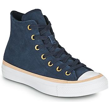 Pantofi Pantofi sport stil gheata Converse CHUCK TAYLOR ALL STAR VACHETTA LEATHER HI Bleumarin
