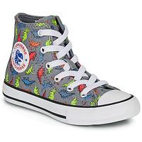 Pantofi Băieți Pantofi sport stil gheata Converse CHUCK TAYLOR ALL STAR DINOVERSE HI Gri
