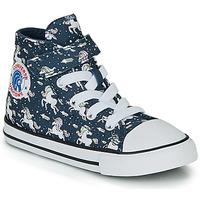 Pantofi Fete Pantofi sport stil gheata Converse CHUCK TAYLOR ALL STAR 1V UNICONS HI Albastru
