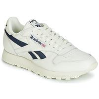 Pantofi Pantofi sport Casual Reebok Classic CL LEATHER MU Alb / Negru