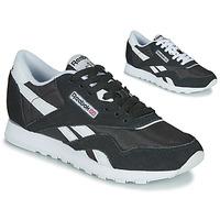Pantofi Femei Pantofi sport Casual Reebok Classic CL NYLON Negru / Alb