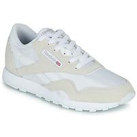 Pantofi Copii Pantofi sport Casual Reebok Classic CL NYLON J Alb / Bej