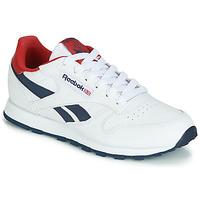 Pantofi Copii Pantofi sport Casual Reebok Classic CLASSIC LEATHER J Alb / Roșu