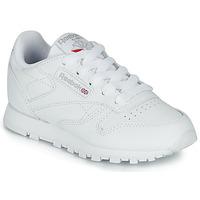 Pantofi Copii Pantofi sport Casual Reebok Classic CLASSIC LEATHER C Alb