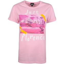 Îmbracaminte Femei Tricouri mânecă scurtă Roberto Cavalli  roz