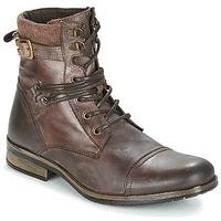 Pantofi Bărbați Ghete Casual Attitude RIVIGH Maro