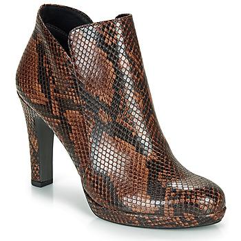 Pantofi Femei Botine Tamaris LYCORIS Maro / Piton