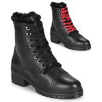 Pantofi Femei Ghete Unisa IRACHE Negru