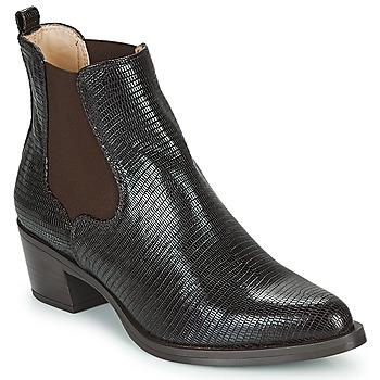 Pantofi Femei Botine Unisa GREYSON Maro