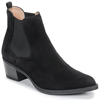 Pantofi Femei Botine Unisa GREYSON Negru