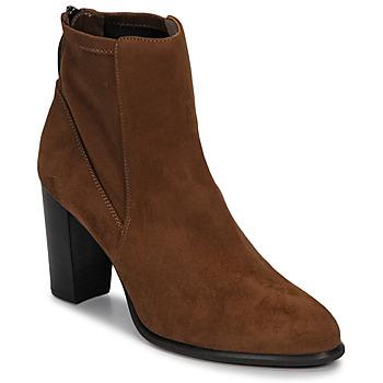 Pantofi Femei Botine Unisa UNDER Maro