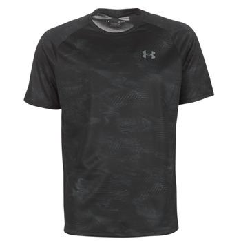 Îmbracaminte Bărbați Tricouri mânecă scurtă Under Armour TECH 2.0 SS PRINTED Negru