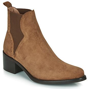 Pantofi Femei Botine Myma PALMA Coniac
