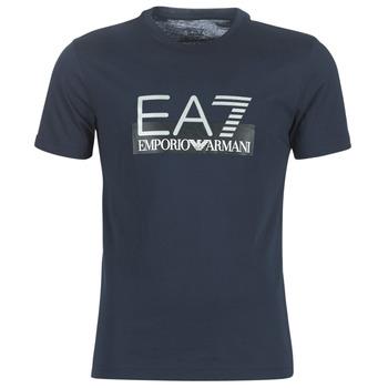 Îmbracaminte Bărbați Tricouri mânecă scurtă Emporio Armani EA7 GPT81-PJM9Z-1554 Bleumarin