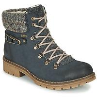 Pantofi Femei Ghete Rieker Y9131-16 Albastru