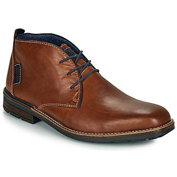 Pantofi Bărbați Ghete Rieker F1310-26 Maro