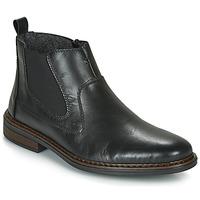 Pantofi Bărbați Ghete Rieker DANE Negru