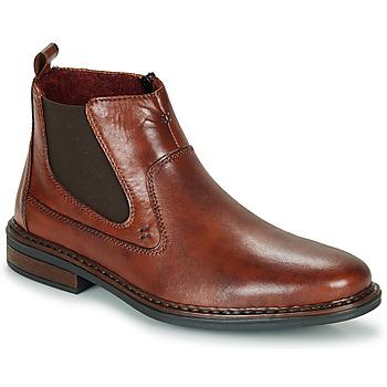 Pantofi Bărbați Ghete Rieker DANE Maro