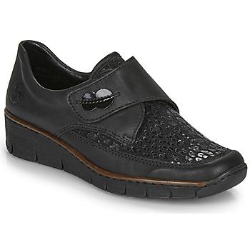 Pantofi Femei Pantofi sport Casual Rieker 537C0-02 Negru