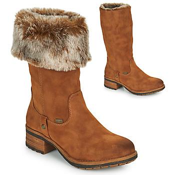 Pantofi Femei Cizme casual Rieker 96854-26 Camel