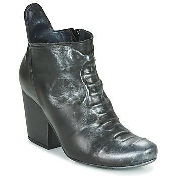 Pantofi Femei Botine Papucei LYLIENE BLACK Negru