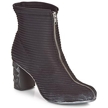 Pantofi Femei Botine Papucei TEO BLACK Negru