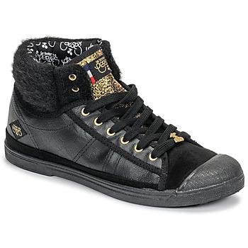 Pantofi Femei Pantofi sport stil gheata Le Temps des Cerises BASIC 03 Negru