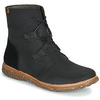 Pantofi Femei Ghete El Naturalista ANGKOR Negru