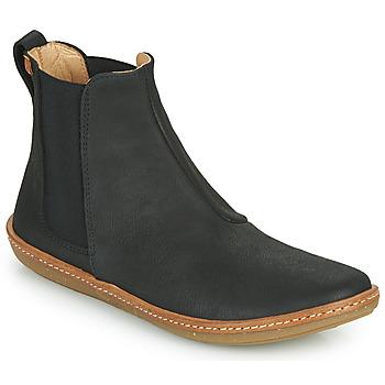 Pantofi Femei Ghete El Naturalista CORAL Negru