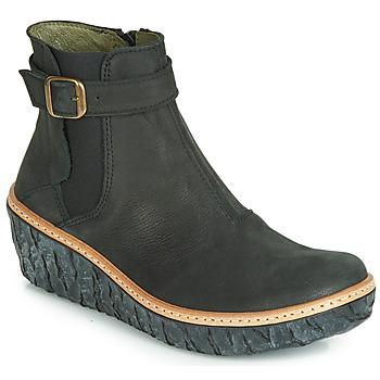 Pantofi Femei Botine El Naturalista MYTH YGGDRASIL Negru