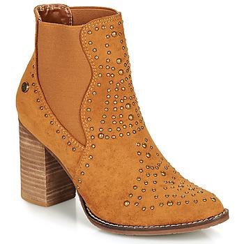 Pantofi Femei Botine Xti AMELIO Camel