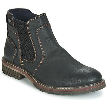 Pantofi Bărbați Ghete Tom Tailor MARTY Negru