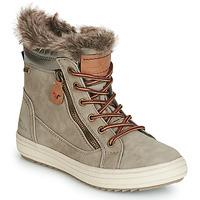 Pantofi Femei Cizme de zapadă Tom Tailor MARGA Gri