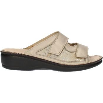 Pantofi Femei Papuci de vară Clia Walk Estraibile408 Platinum