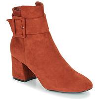 Pantofi Femei Botine Moony Mood FAZIOLE Maro ruginiu