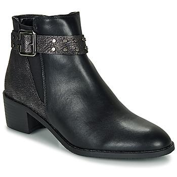 Pantofi Femei Ghete Moony Mood FLOURETTE Negru