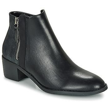 Pantofi Femei Ghete Moony Mood FALINE Negru