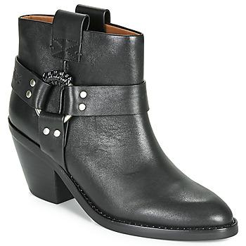 Pantofi Femei Botine See by Chloé FEDDIE Negru